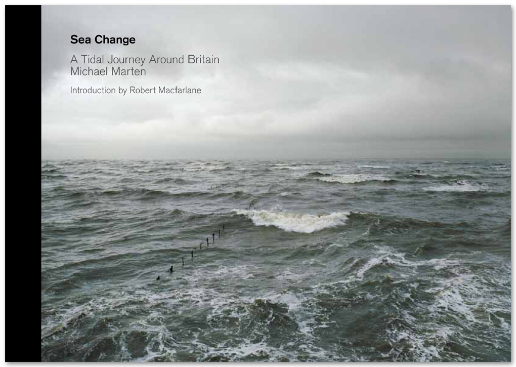 Photographer Michael Marten commissioned Troika to run the PR campaign for the launch of his book Sea Change and advise on the exhibition at the OXO Tower in central London