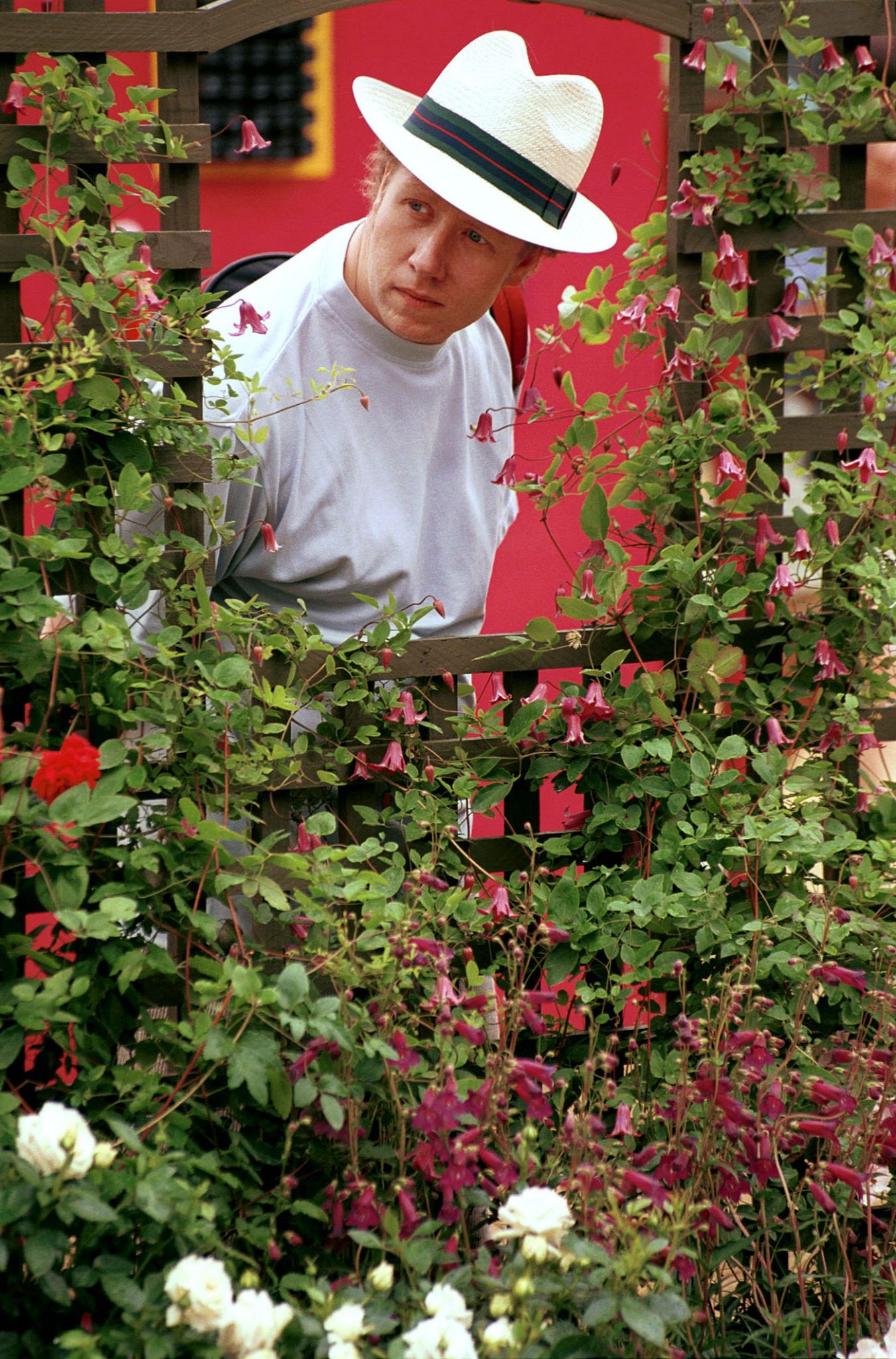 The Hampton Court Flower Show is held in the grounds of Hampton Court Palace
